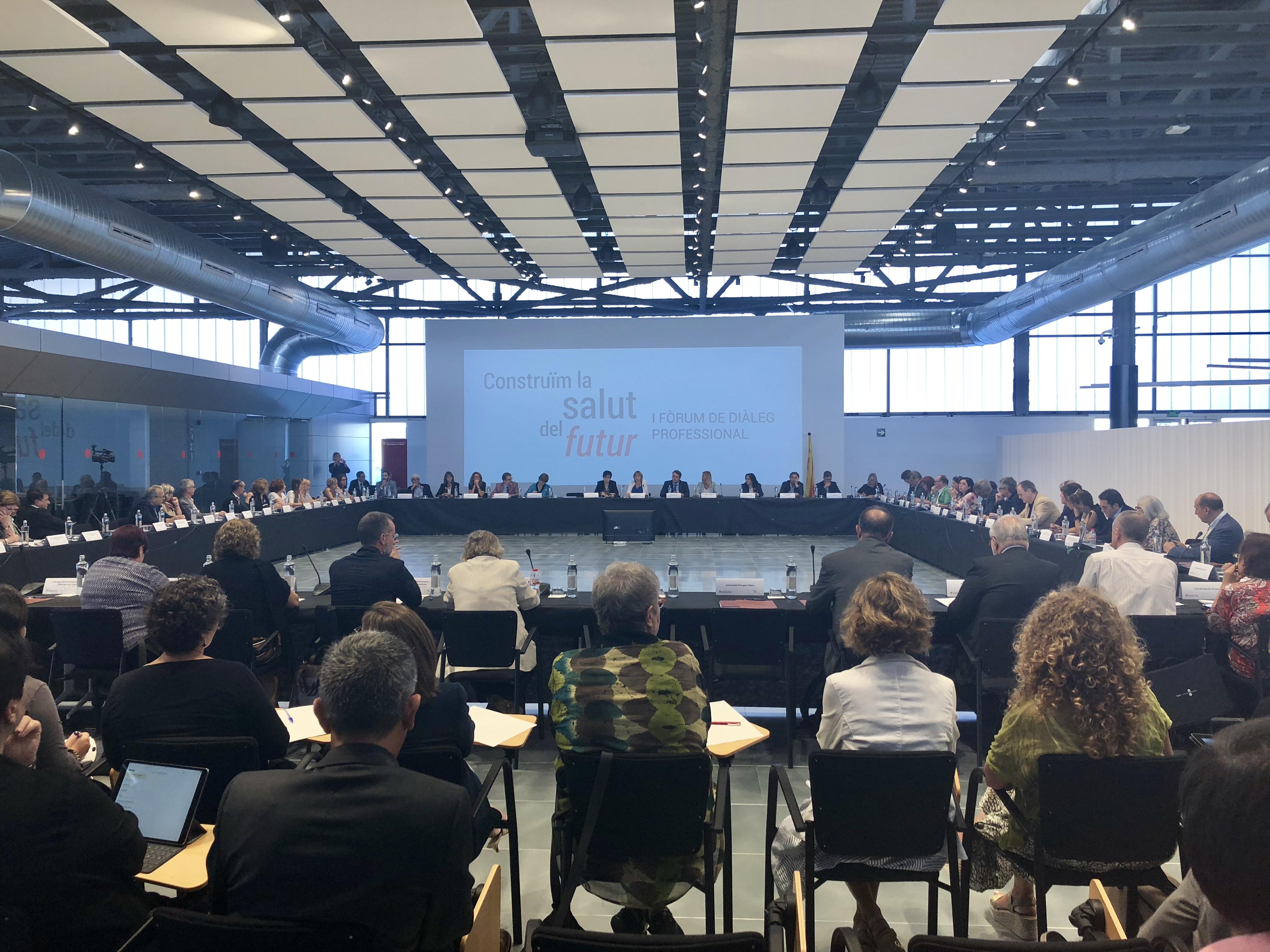 La precarietat del sector sanitari i la falta de metges entre les principals denúncies del I Fòrum de Diàleg Professional