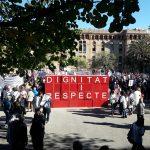 """Una nova mobilització de personal de l'Atenció Primària i metges de la concertada demana """"Dignitat i respecte"""""""