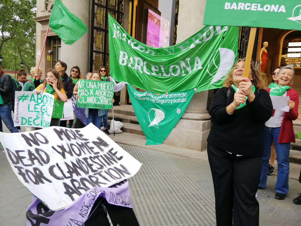La Marea Verda entra de nou el projecte de llei per un avortament legal, segur i gratuït a Argentina